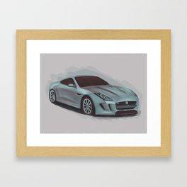 F-Type Framed Art Print