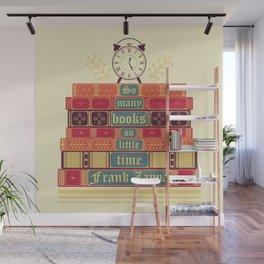 So many books - Frank Zappa Wall Mural