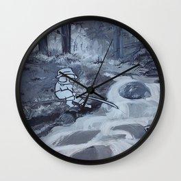 Peaceful Perseverance Wall Clock