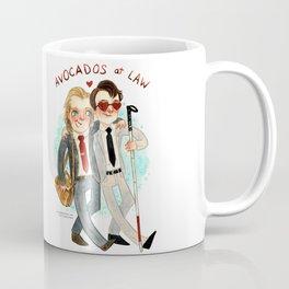 Daredevil Super Group Hug! Coffee Mug