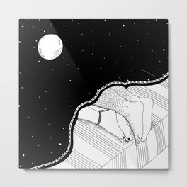 Los Durmientes Metal Print