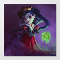 I'm the real evil queen Canvas Print