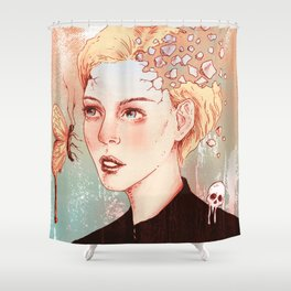 In Existence Shower Curtain