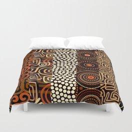 Geometric African Pattern Duvet Cover