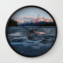 Lake Maligne Wall Clock