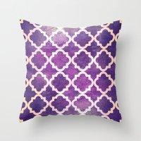morocco Throw Pillows featuring Morocco by Raluca Ag