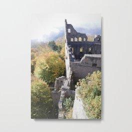 Sky Ruins Metal Print