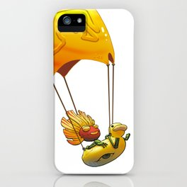 Golden Parachute iPhone Case