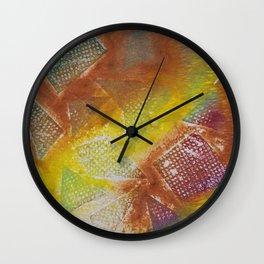 Abstract No. 420 Wall Clock