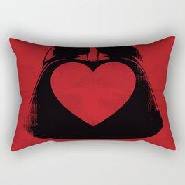 The dark love Rectangular Pillow
