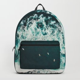 WAVES - OCEAN - SEA - WATER - COAST - PHOTOGRAPHY Backpack