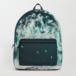 WAVES - OCEAN - SEA - WATER - COAST - PHOTOGRAPHY Backpack