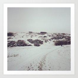 Snow Days in Calgary Art Print