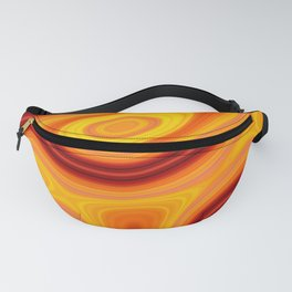 Sunset World and Waves Fanny Pack