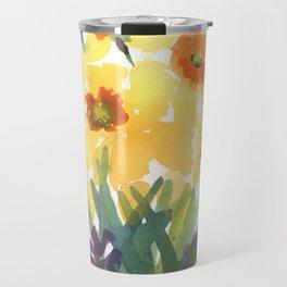 Spring Daffodil Patch Travel Mug