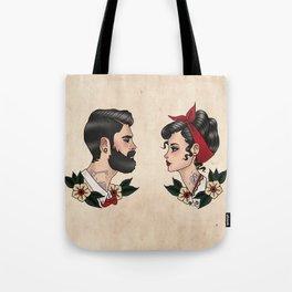 Lady & Gentleman Tote Bag