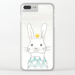 Happy bunny Clear iPhone Case