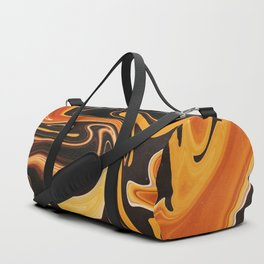 Melted Tiger Duffle Bag
