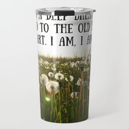 Sylvia Plath Quote 2 Travel Mug