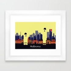 Lovely Melbourne Framed Art Print