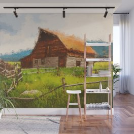 Into the Fields Wall Mural