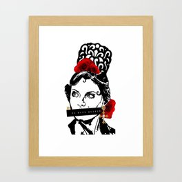 EL BUEN QUERER (THE GOOD LOVE) Framed Art Print