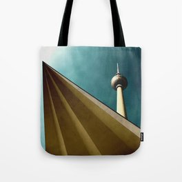 Berliner Tower Art Tote Bag
