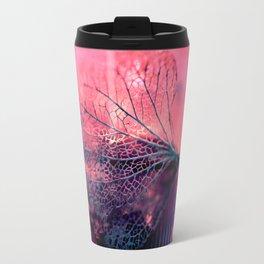 Disintegration in Pink Travel Mug