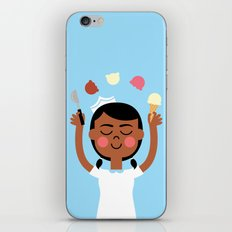 One Scoop or Two? iPhone & iPod Skin