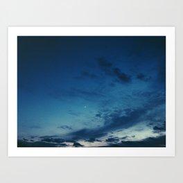 Cold Skies Art Print