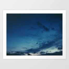 Cold Skies Art Print