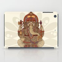 valentina iPad Cases featuring Ganesha: Lord of Success by Valentina Harper