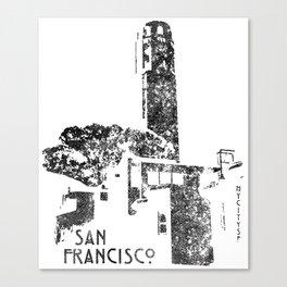 Coit Tower Canvas Print