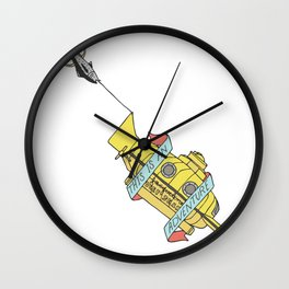 This Is An Adventure | The Life Aquatic with Steve Zissou Wall Clock