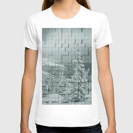 Winter collage T-shirt