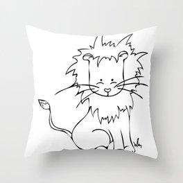 Safari Set - Lion Throw Pillow