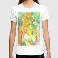 splatter T-shirts featuring Paint Splatter by Rosie Brown