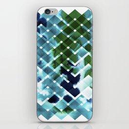 River in deciduous wood iPhone Skin