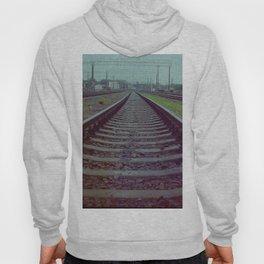 Railroad. Russia. Hoody