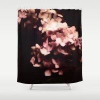 hydrangea Shower Curtains featuring Hydrangea by Christine Belanger