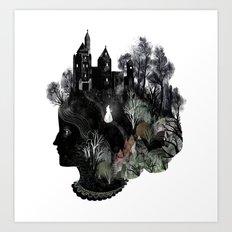The Widowed Ghost Art Print