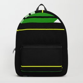 Team Colors 5....green , yellow Backpack