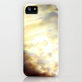 Christmas Lights and White Wine iPhone Case
