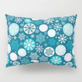 Magical snowflakes IV Pillow Sham