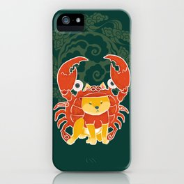 Crab Funny Dog Costume - Sea Collection iPhone Case