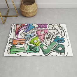 Sneaker Party Rug