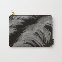 Shrimp, Abstract, Black & White Carry-All Pouch