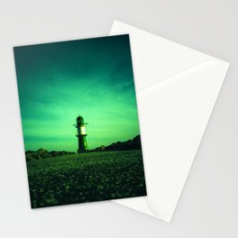 GREEN LIGHTHOUSE Stationery Cards