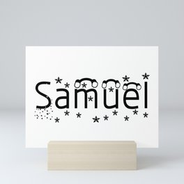 Samuel Mini Art Print
