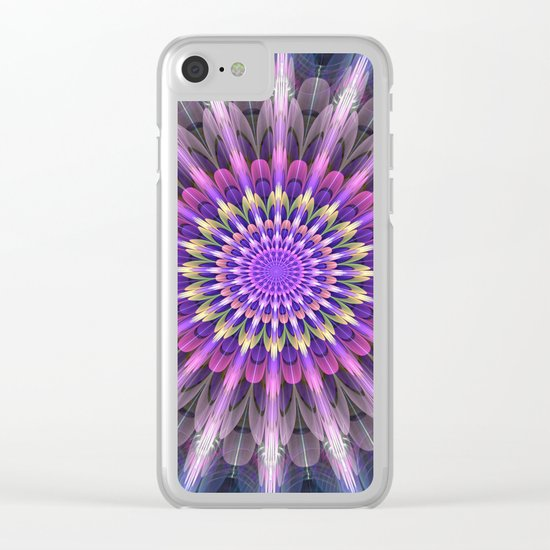 Flowering like sunbeams Clear iPhone Case